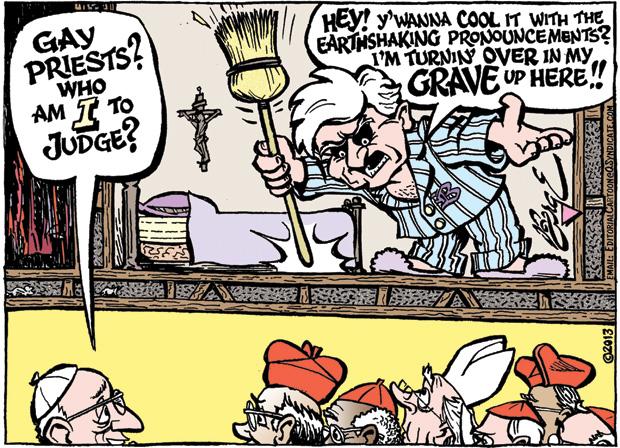 Editorial Cartoon • 08.09.13