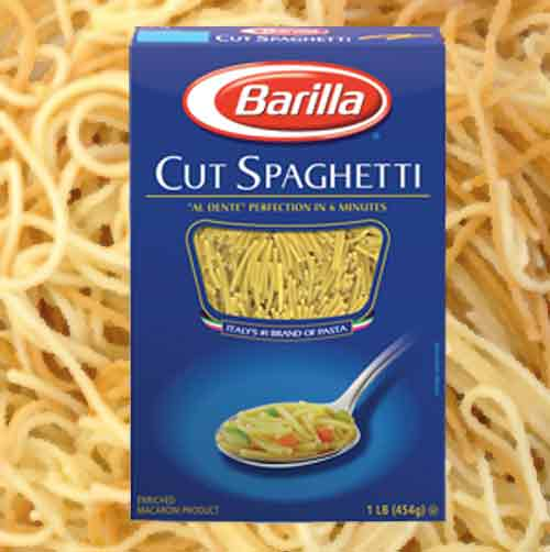 Barilla dares gays to buy another pasta