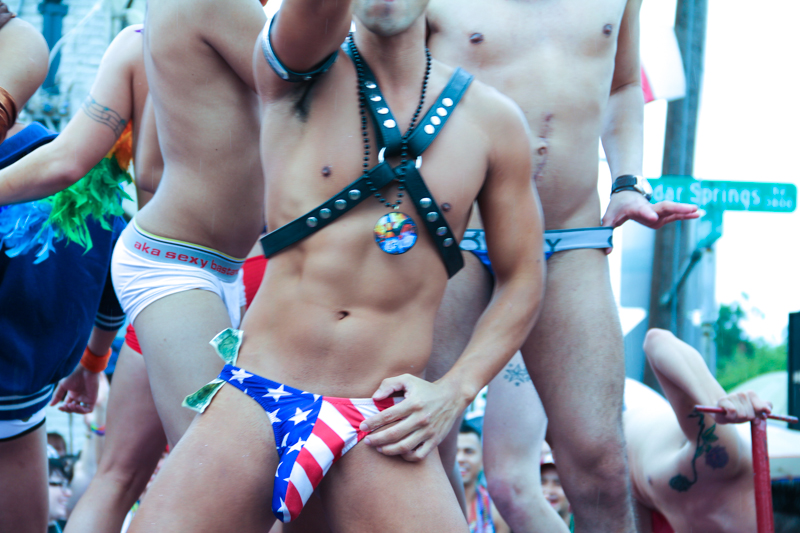 Some LGBT activists outraged by new dress code for Dallas Pride