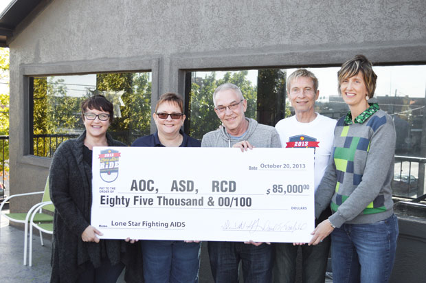 Lone Star Ride distributed $85,000 in proceeds