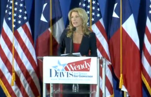 Wendy Davis: I'm running!