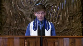 WATCH: A 13-year-old uses his Bar Mitzvah speech to champion gay marriage