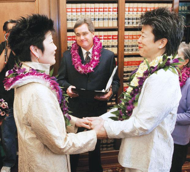 Marriage equality comes to Hawaii