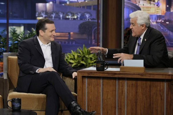WATCH: Sen. Ted Cruz talks gay marriage, Obamacare with Jay Leno