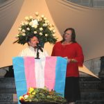 TDOR chairs Oliver Blumer and Michelle Stafford