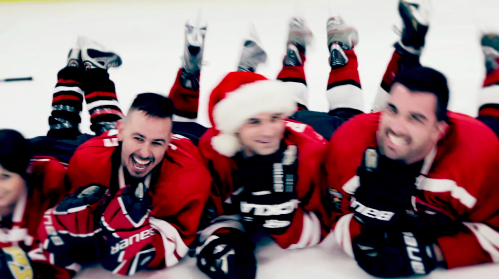 WATCH: Gay hockey players go musical