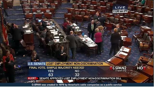 ENDA passes U.S. Senate