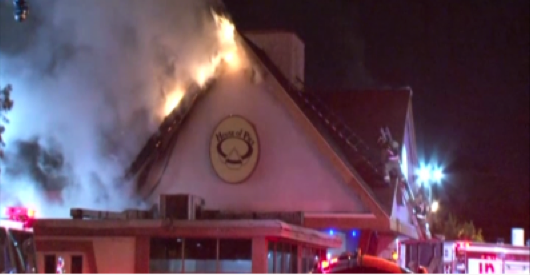 Houston's House of Pies damaged by fire