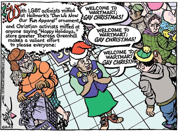 Editorial Cartoon • 11-29-13