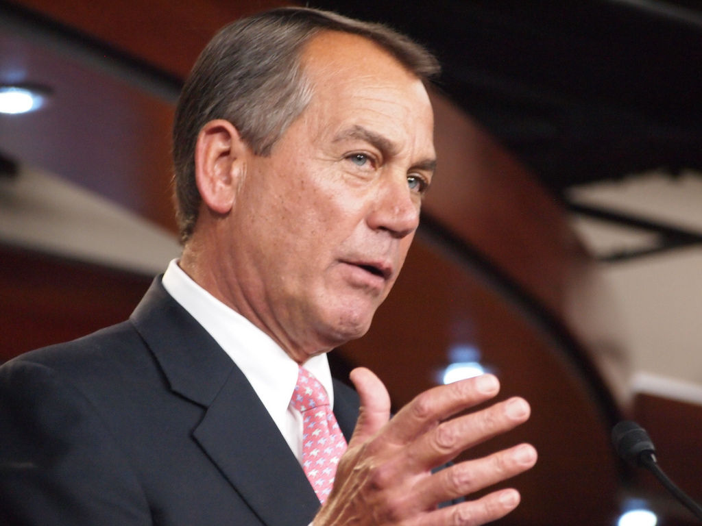 John Boehner criticized for giving space to anti-gay group