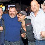 Nathan, Natha, Bryan, Christopher and John at the Round-Up Saloon.
