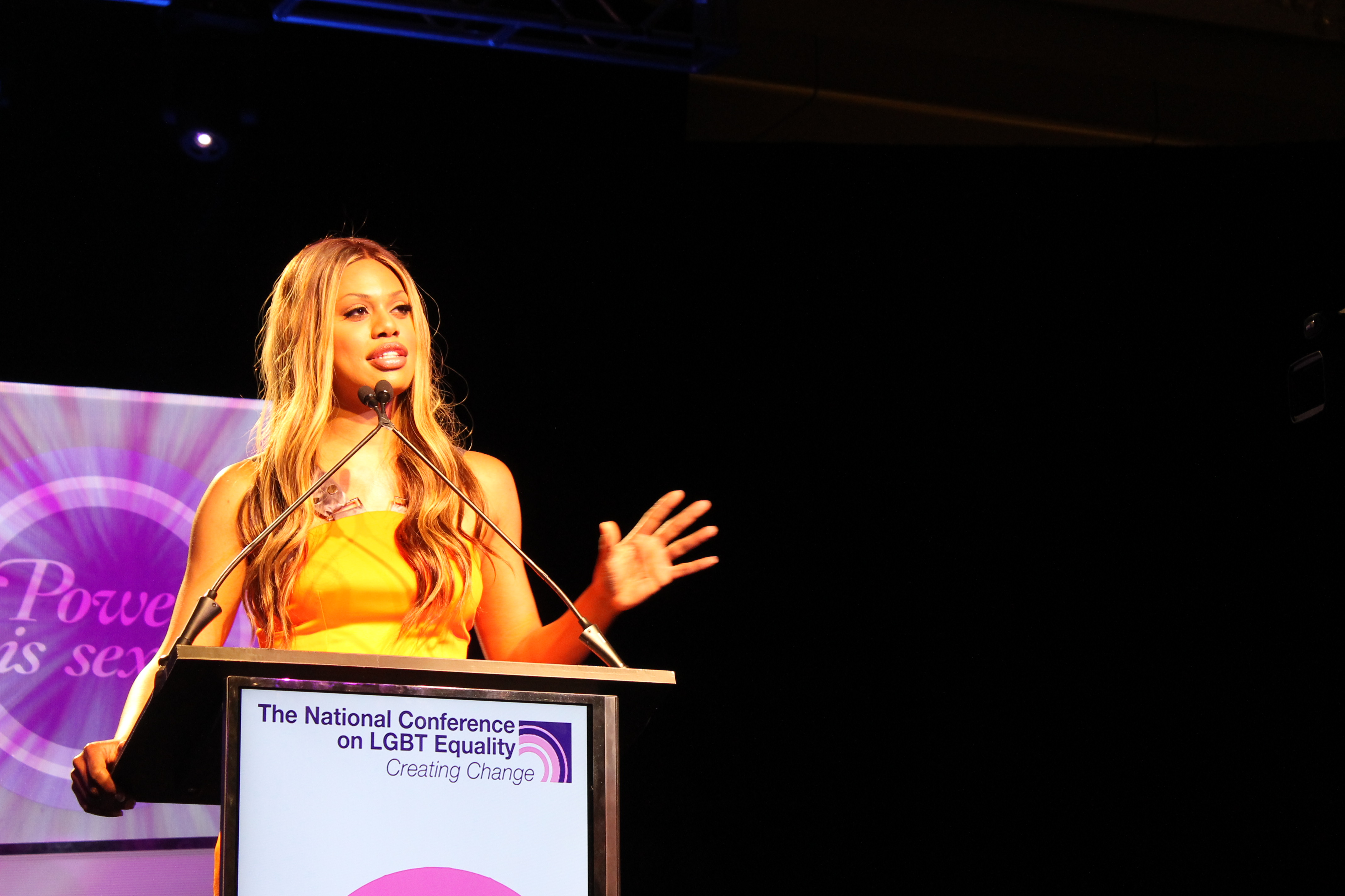Laverne Cox: Love for trans community will end injustices she, others face