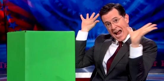 WATCH: Colbert's raciest segment yet