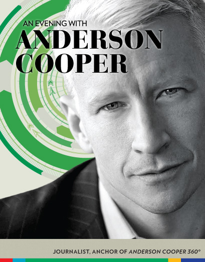 Anderson Cooper's UTA appearance rescheduled for Feb. 10