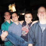 Daniel-Chris-Dmepsey-Jody-at-Woody's