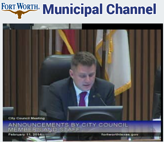 BREAKING: Fort Worth City Councilman Joel Burns announces he will resign, effective immediately