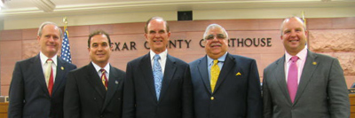 Bexar County commissioners