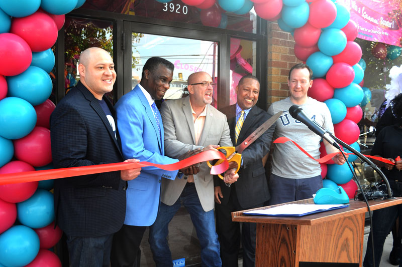 City, county officials attend Out of the Closet opening