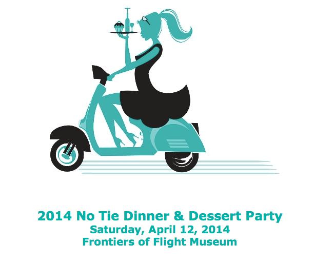 No Tie Dinner & Dessert Party set for Saturday