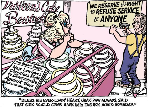 Editorial Cartoon • 04-11-14
