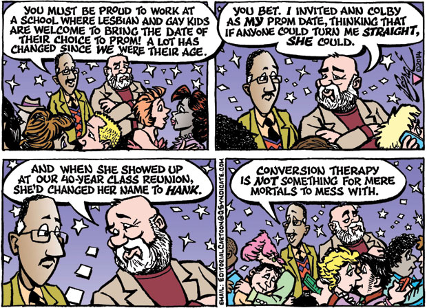 Editorial Cartoon • 04-25-14