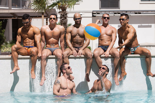 Red Party kicks off summer of Pride with pool party