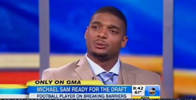 Texas native and NFL hopeful Michael Sam talks nerves ahead of NFL draft