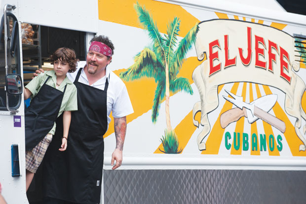 Knife launches film series with, natch, 'Chef'