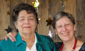 Rae Baskin, left, and Esther Fuller