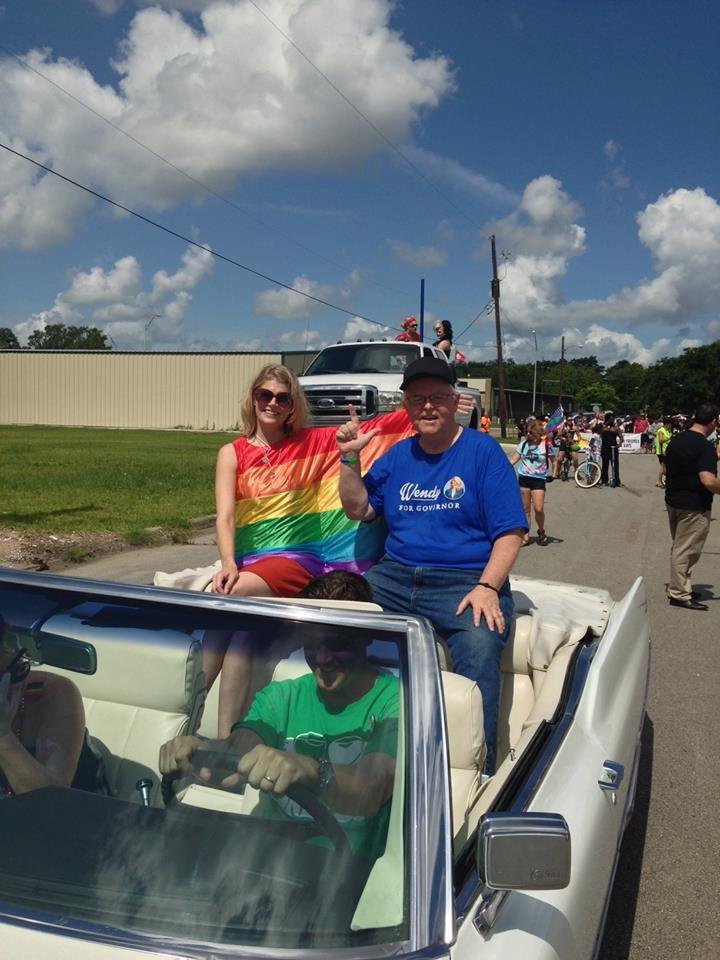 Beaumont holds first Pride parade