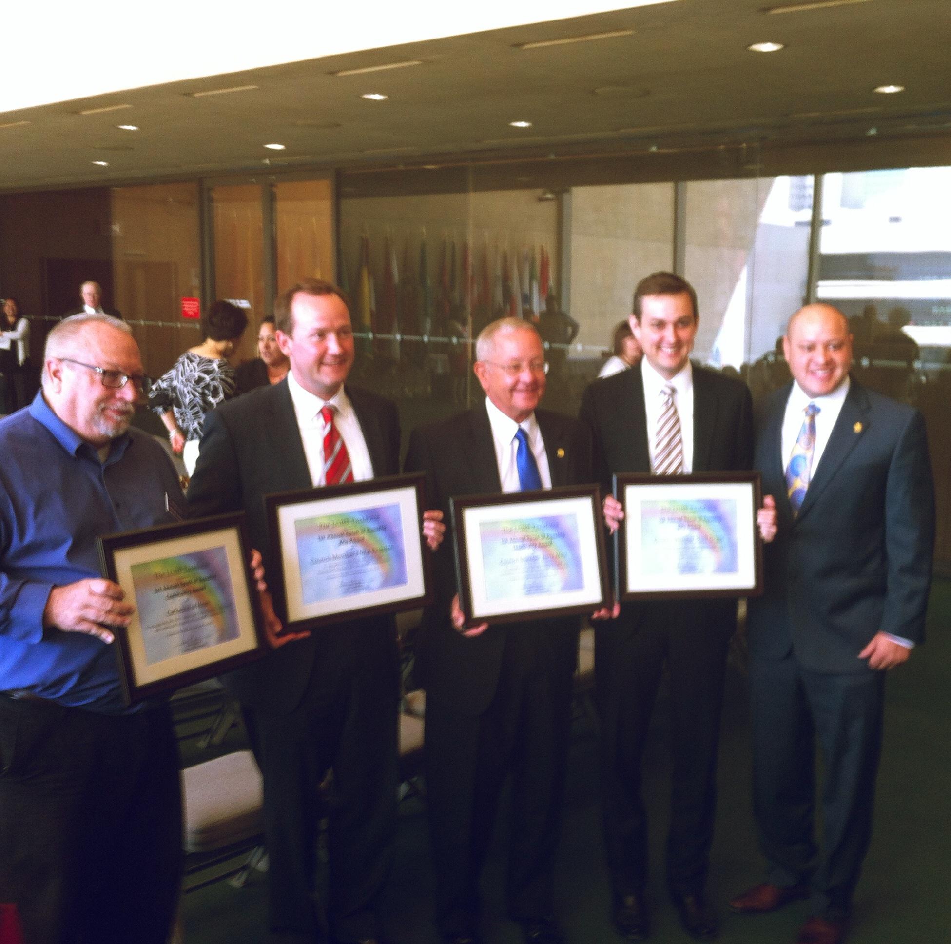 Dallas celebrates Pride at City Hall