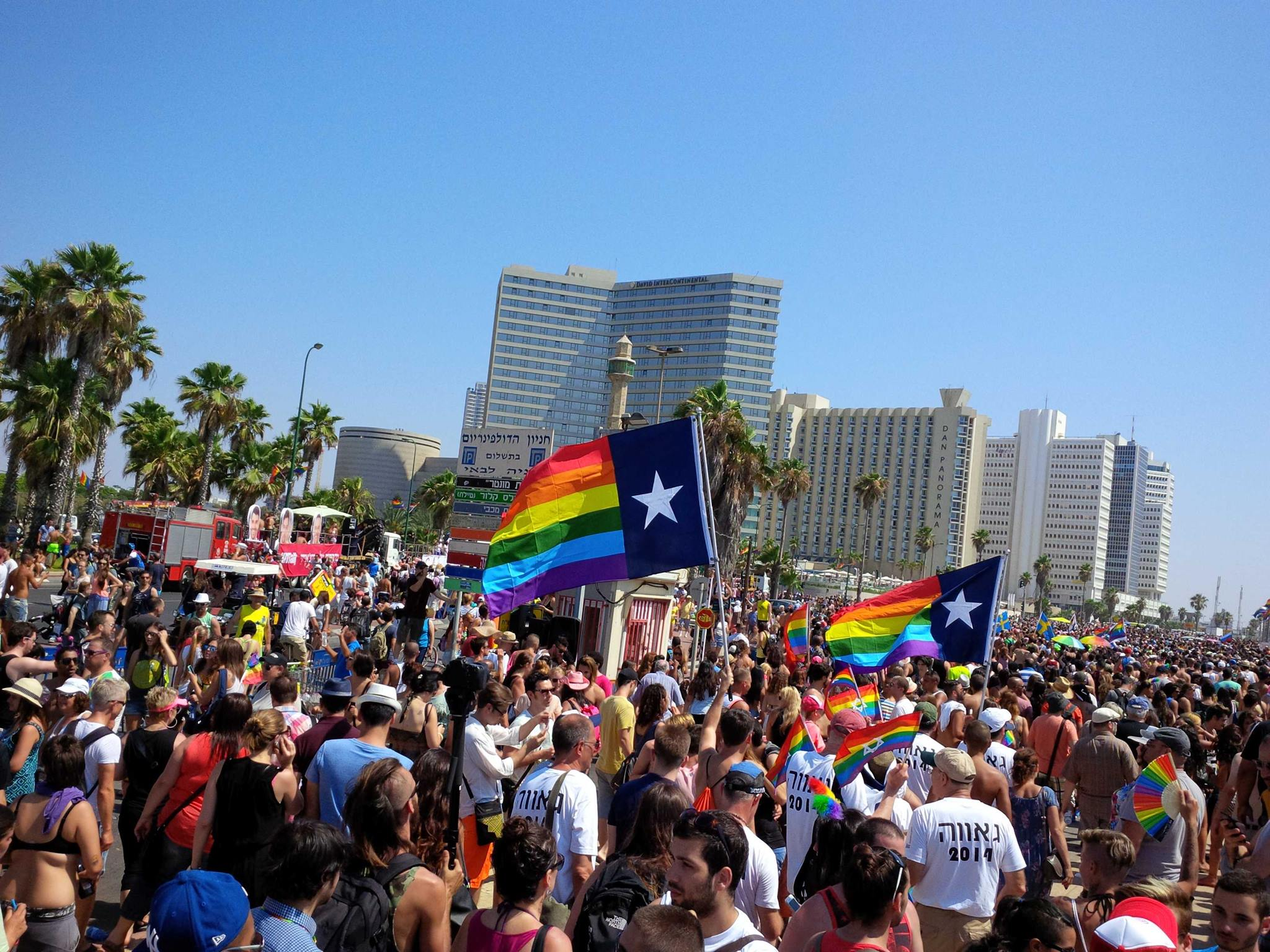 Texans in Tel Aviv for Pride