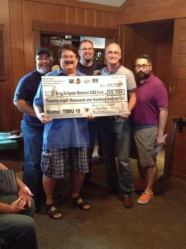 Dallas Bears presents GDMAF with its largest donation ever
