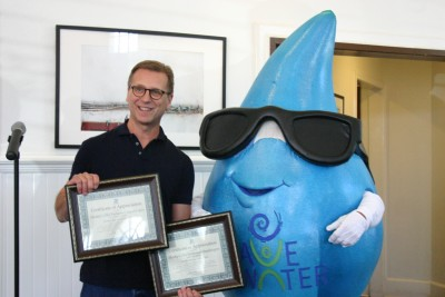 Hunky's Burgers recognized for water saving efforts