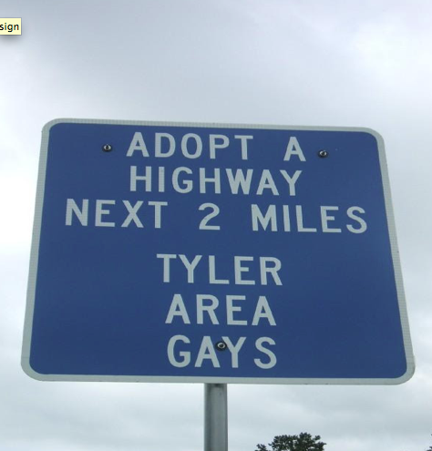Volunteer opportunity for Tyler-area gays