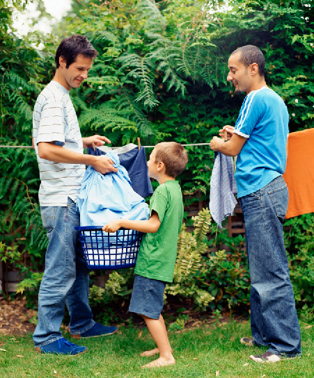 Study shows children with two moms or two dads are healthier and happier