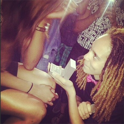 Out WNBA stars Brittney Griner and Glory Johnson engaged