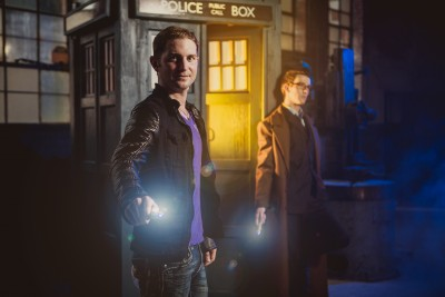 PHOTOS: Gay couple's 'Doctor Who' engagement photos