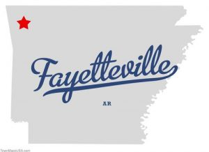 map_of_fayetteville_ar