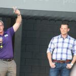 TCU ass't athletic director Drew Martin and his fiance