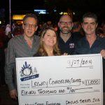 Ron Adams, from left, Melissa Grove, Matt Herrington and Tim Ronan