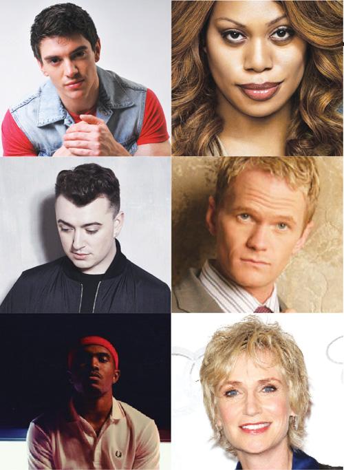 New gay stars