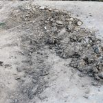Dirt on the trail. Adam Medrano, would you please tell the city to clean up my trail so I can fully enjoy my bike rides