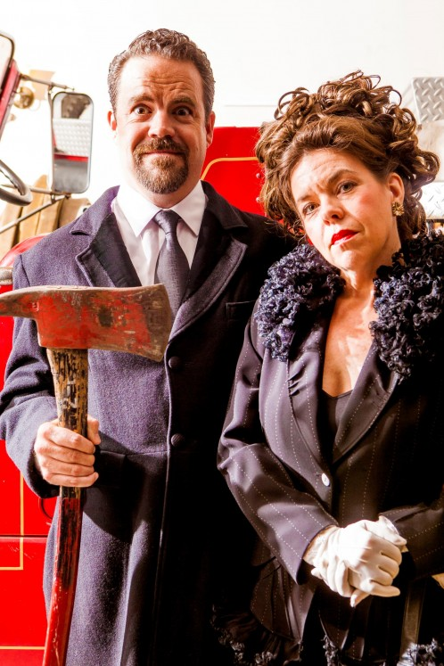 Review: Kitchen Dog's 'The Arsonists' becomes a farce of the mind