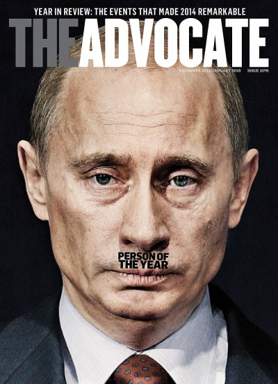 Advocate names Putin its Person of the Year