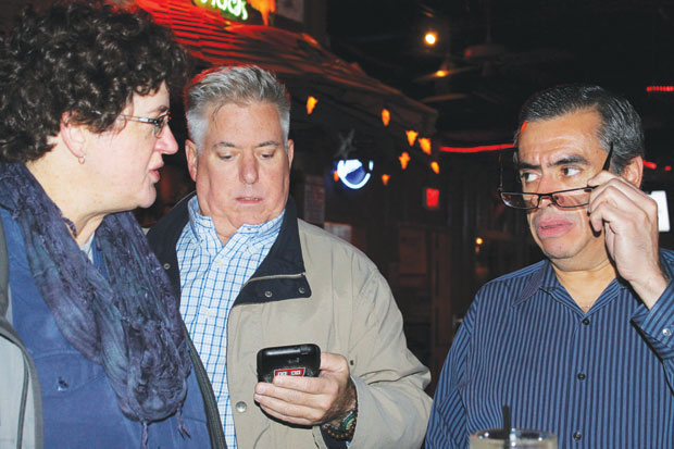 Election outcome dismays Dems; gay GOPer optimistic