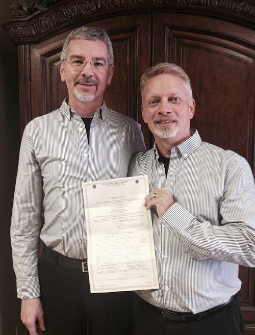 Ex-gay leader marries his husband in Oklahoma