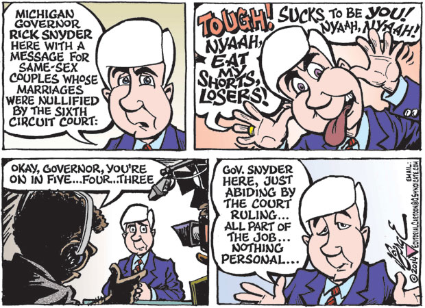 Editorial Cartoon • 11-21-14