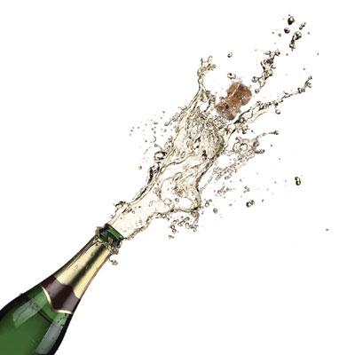 Champagne-bottled