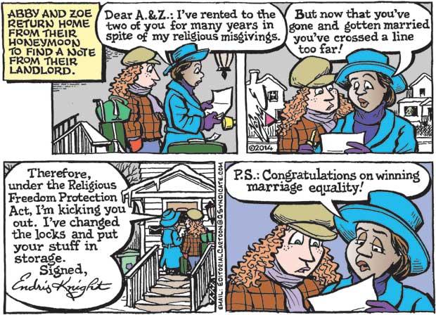 Editorial Cartoon • 12-19-14